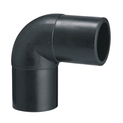 HDPE 90° elbow buttfusion