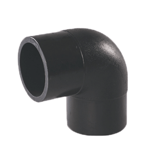 HDPE 90° elbow socket